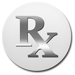 Silver Rx Button Clipart Image Ipharmd Net