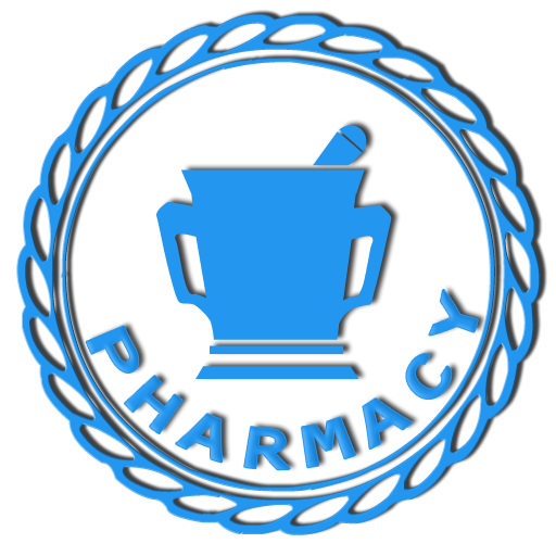 pharmacy symbol pestle blue clipart image ipharmdnet