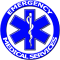 Emergency blue star of life